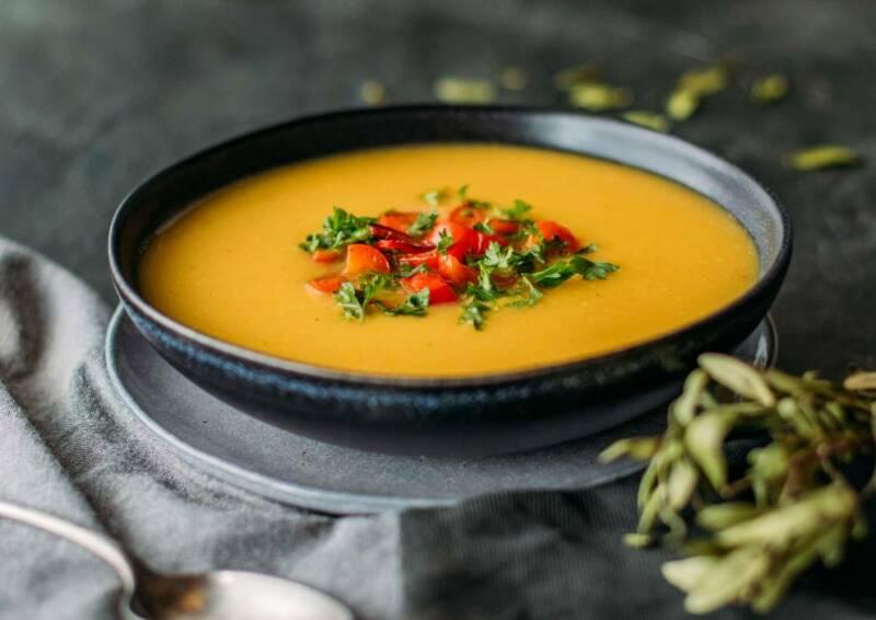Kartoffel-Gemüse-Suppe