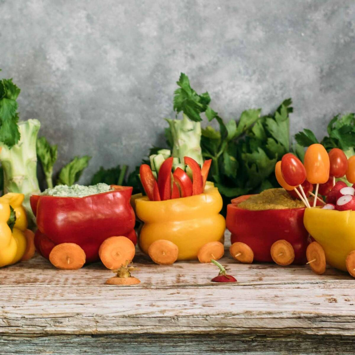 Kindergeburtstag Kreative Rezeptideen Mit Obst Und Gemuse