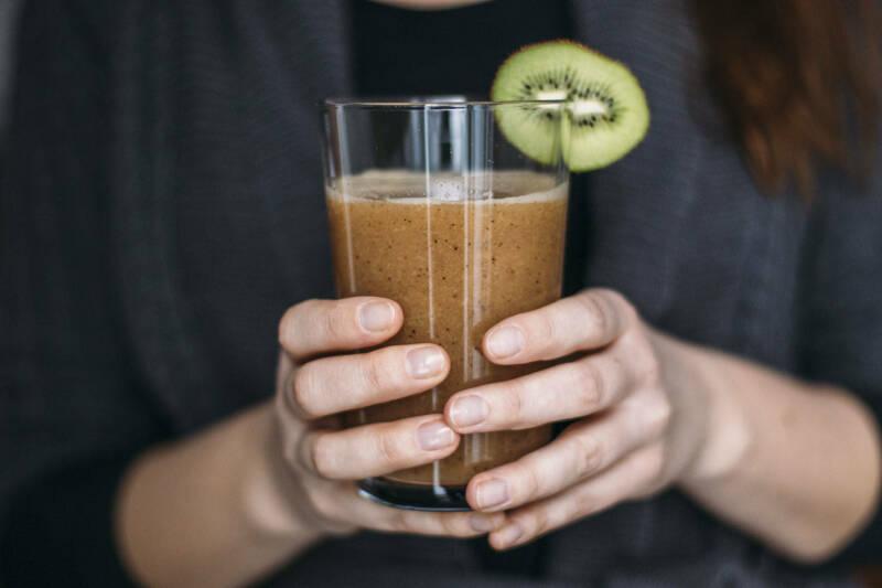 Kiwi Papaya Sport Shake