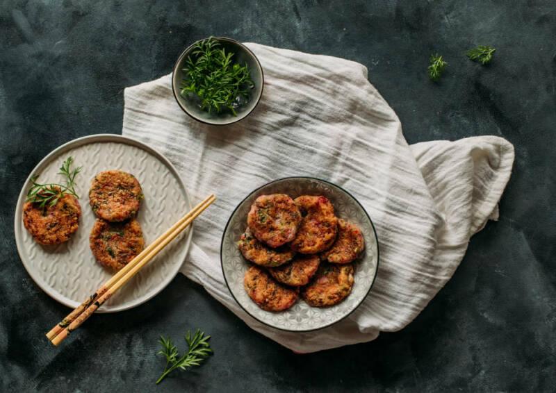Kochen mit Aufstrichen: Rezept - Rettich-Bratlinge