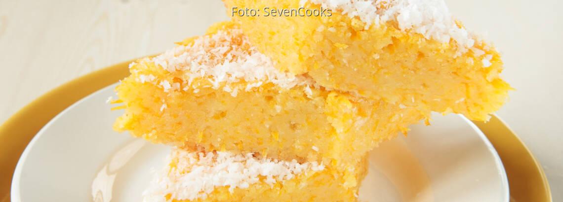 Kokos Griessschnitte In Orangensauce Vegan Sevencooks