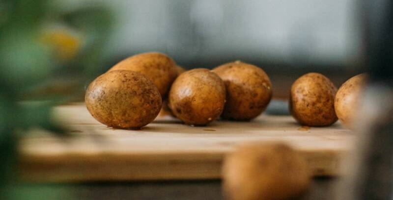 Lebensmittel, die lange haltbar sind: Kartoffeln