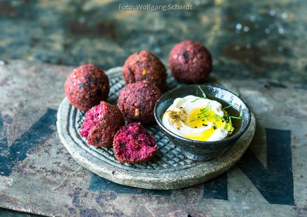 Levante-Küche: Rote-Bete-Falafel