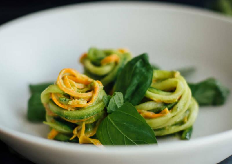 Low Carg Gemüsepasta