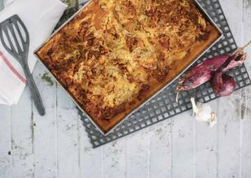Lupinen-Lasagne