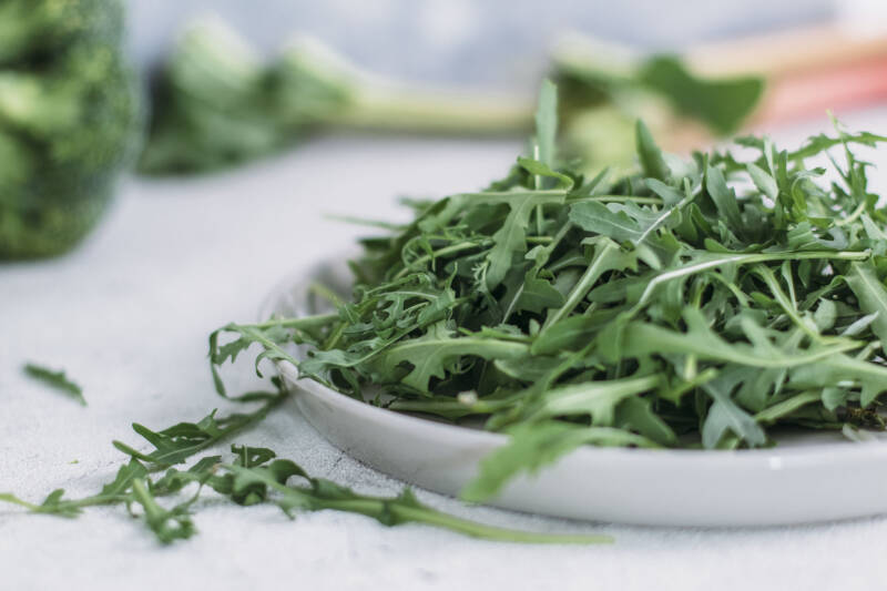 Blattgemüse wie Rucola, Mangold und Spinat dienen in der Alltagsküche als Magnesiumlieferanten.