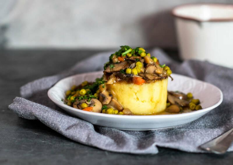Mashed Potatoes mit Pilzragout