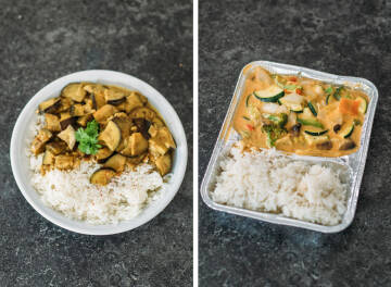 Mittagessen Challenge: Curry Collage