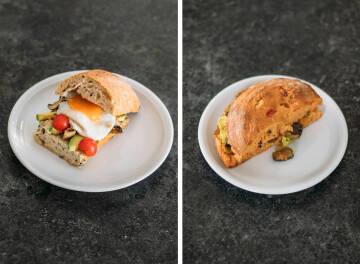 Mittagessen Challenge: Sandwich Collage