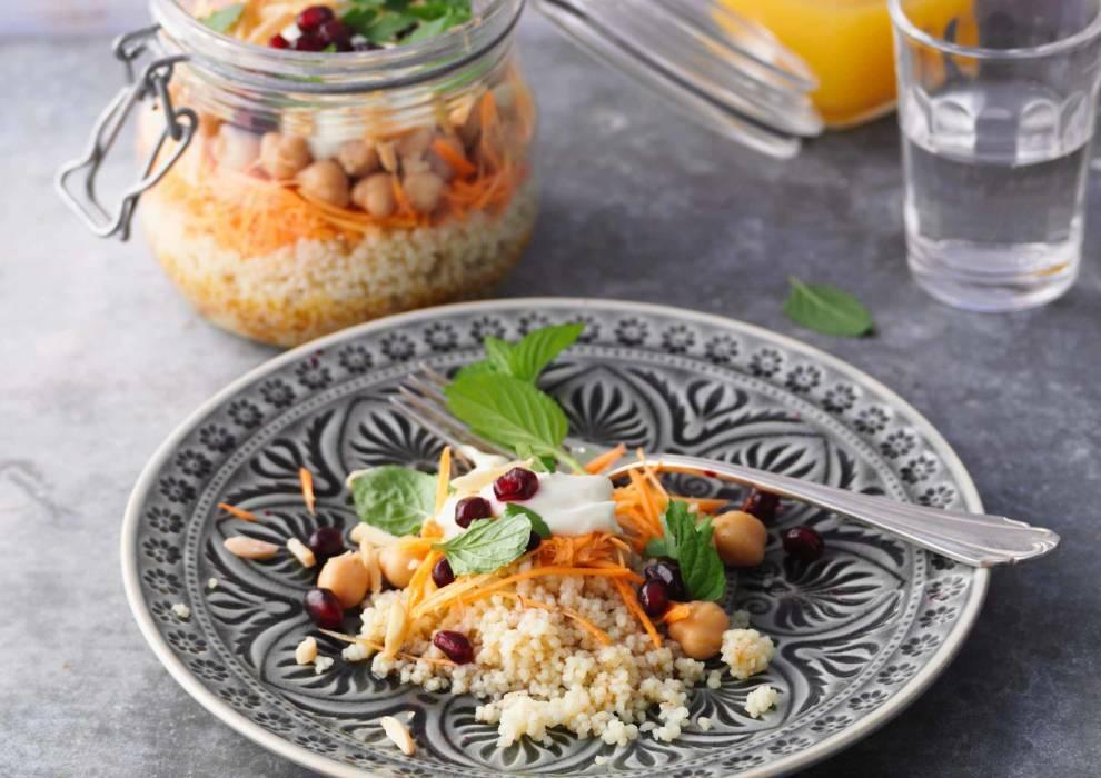 Möhren-Couscous-Salat