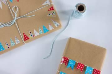 Nachhaltiger Advent: Geschenkverpackung