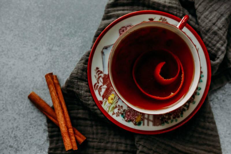 Orientalischer Weihnachtstee