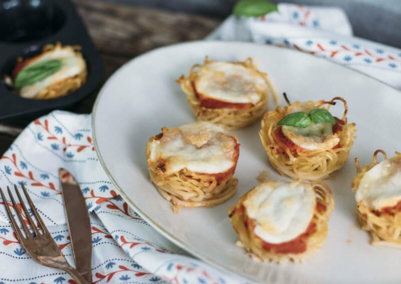 Pasta Frittata Muffins