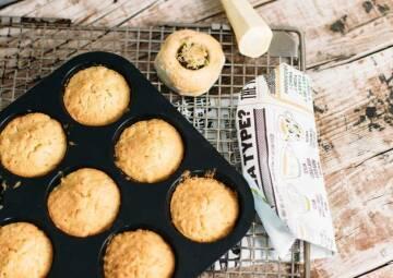 Pastinaken Muffins