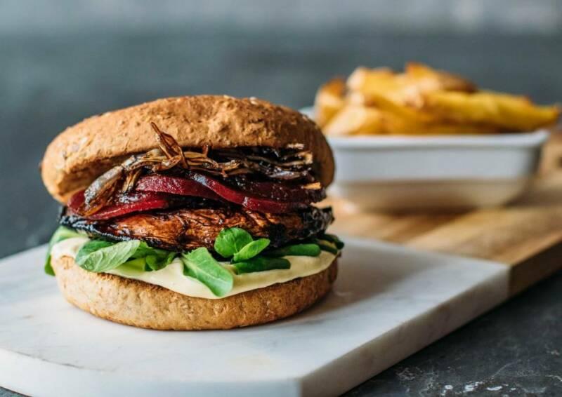 Portobello-Burger