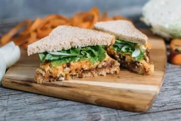 Pulled Jackfruit Sandwich