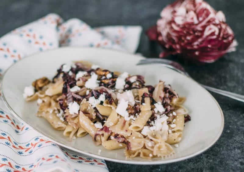 Radicchio Walnuss Pasta
