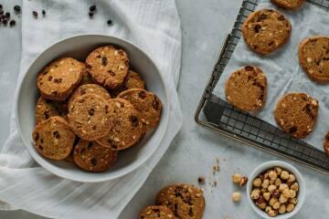 Rosinen-Haferflocken-Kekse