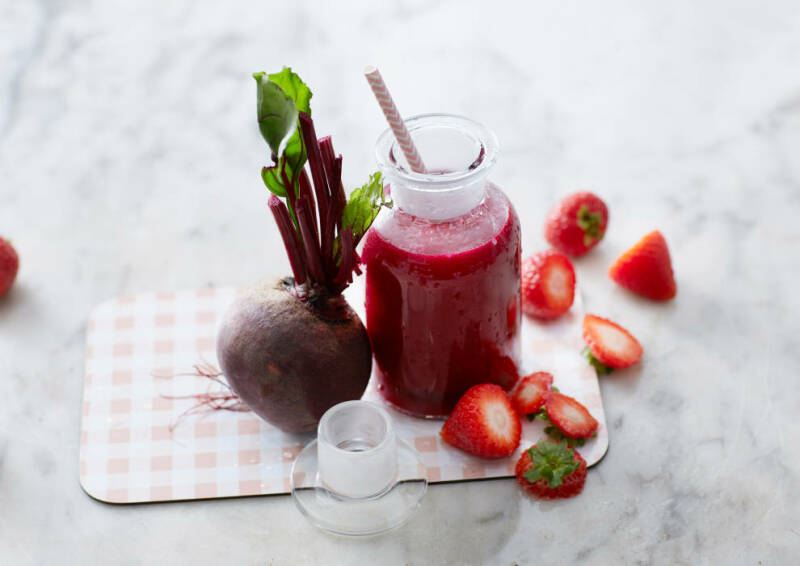 Saft oder Smoothie: Rote Bete Smoothie