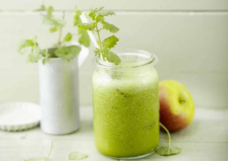 Saft oder Smoothie: Spinat Apfel Smoothie