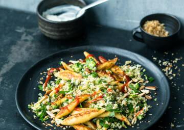 Schupfnudeln mit Gemüse-Pangratto