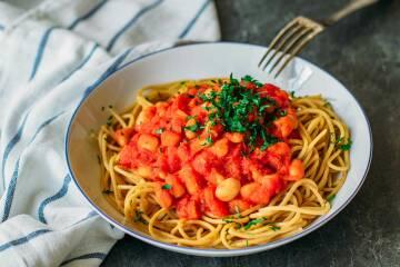 Spaghetti mit Bohnen 1 (1)
