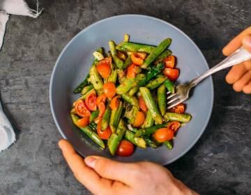 Spargel-Tomaten-Salat