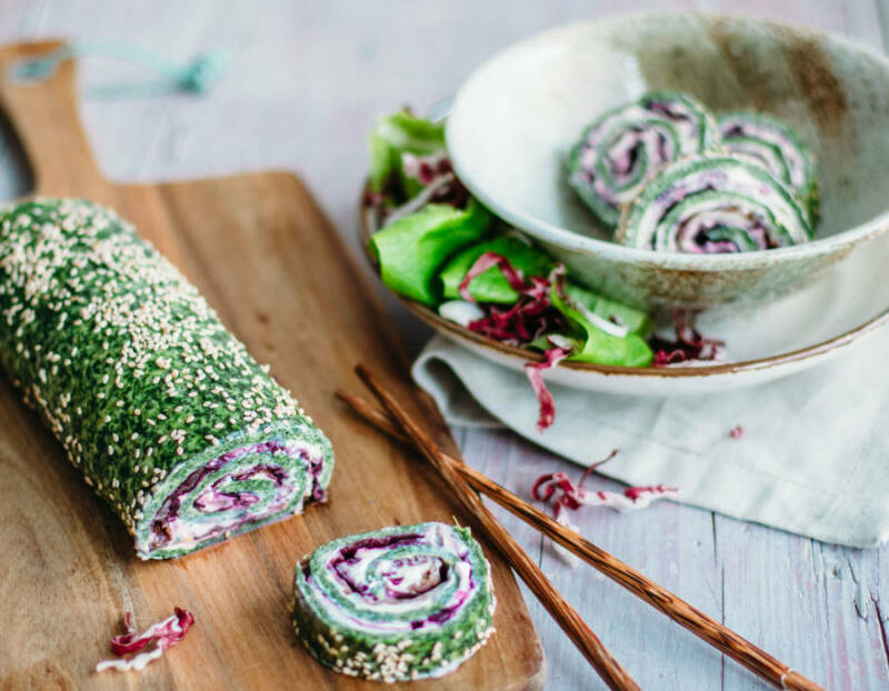 Spinat-Roulade