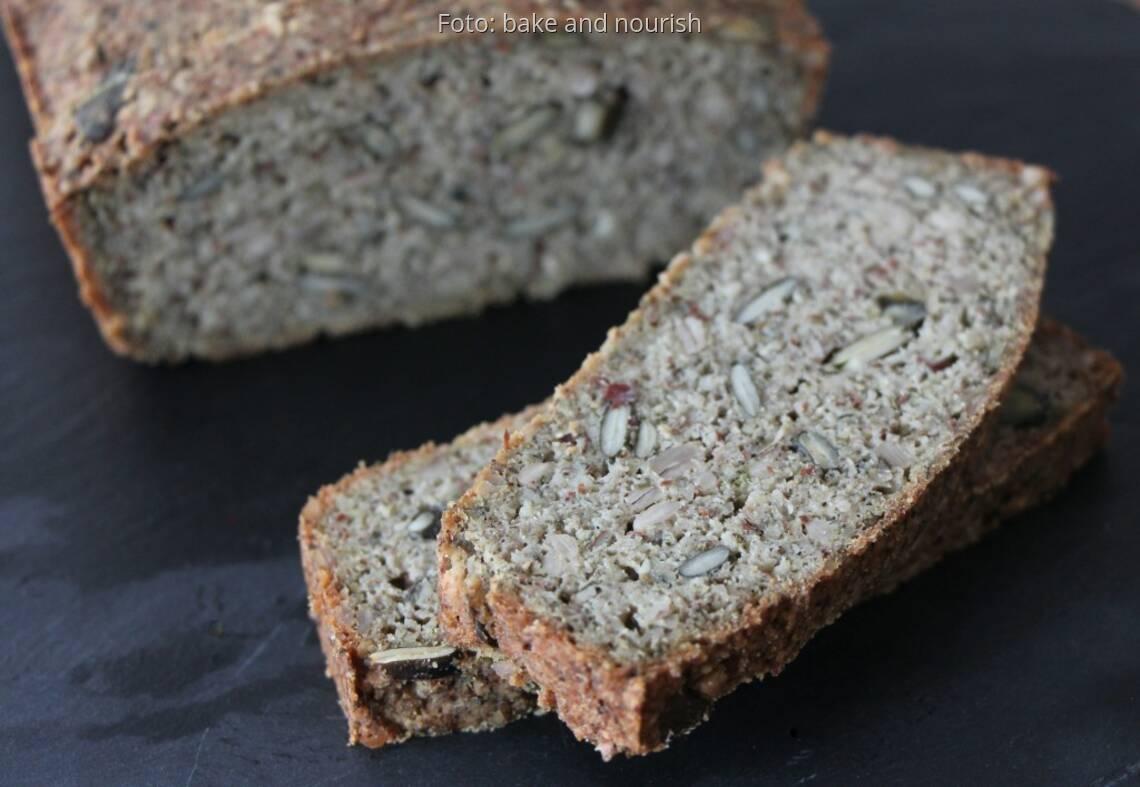Glutenfreies Superfood Brot