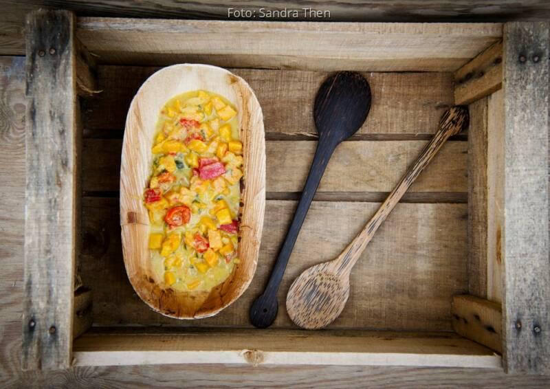 Tropicai Kokosöl: Rezeptbild  Mangocurry