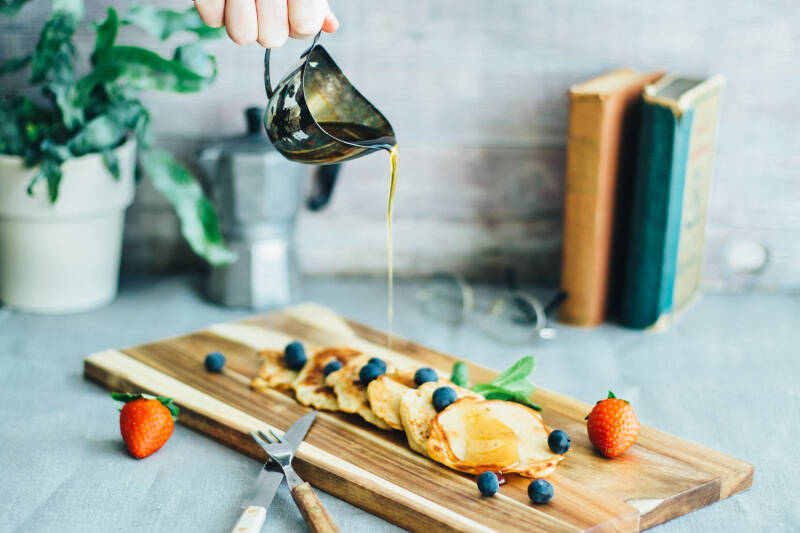 Tropicai Kokosöl: Rezeptbild Vegane Pancakes