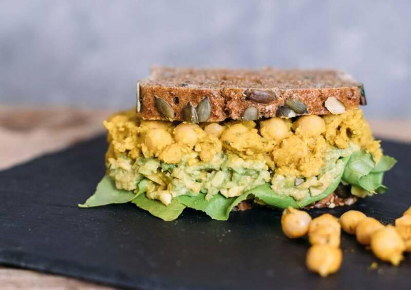 Vegane Chickpea Cream Sandwiches