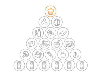 Vegane Ernährungspyramide: Genussmittel