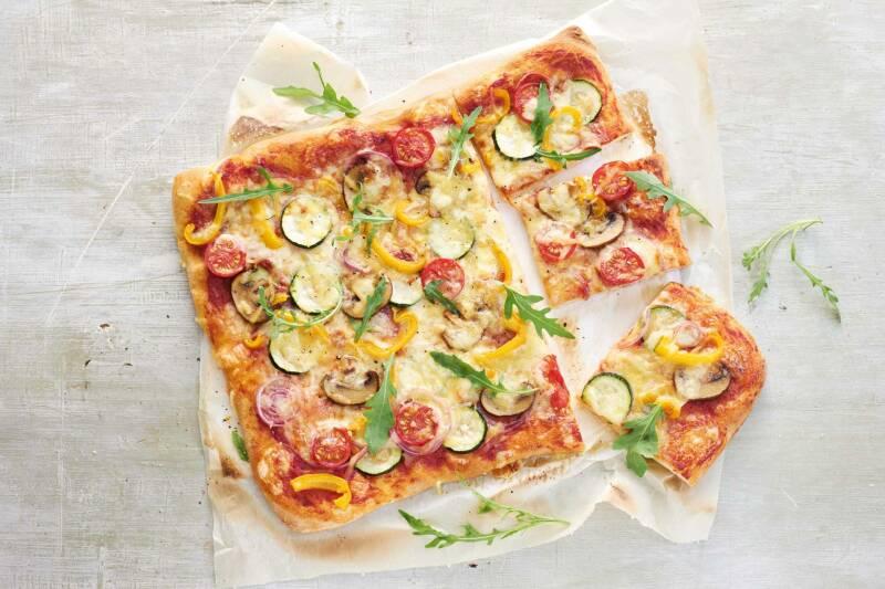 Vegane Gemüsepizza Simply V