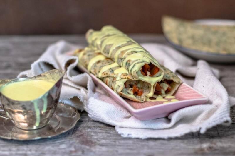 Vegane Lachspfannkuchen