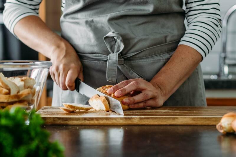 Vegane Semmelknödel mit Pilzrahm