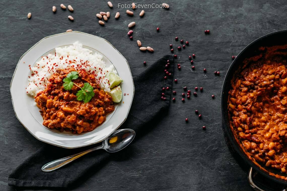 Veganes Rezept: 5-Bohnen-Curry 1