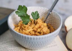 Veganes Rezept: Apfel-Sellerie-Karotten-Salat 1