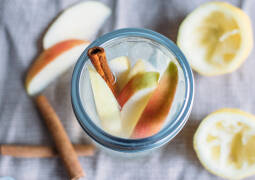 Veganes Rezept: Apple Flavoured Water