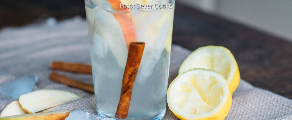 Veganes Rezept: Apple Flavoured Water