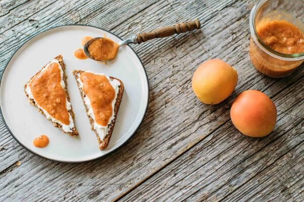 Aprikosen Frühstücksaufstrich für Eilige