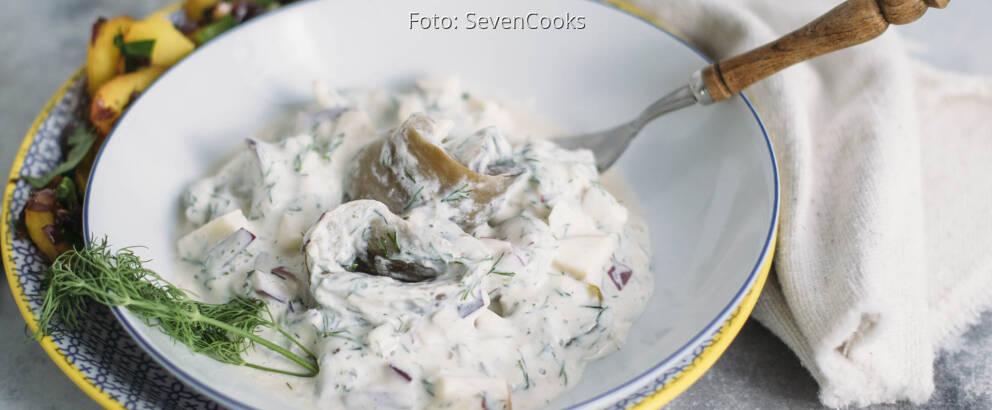 Veganes Rezept: Auberginen-Matjes 1
