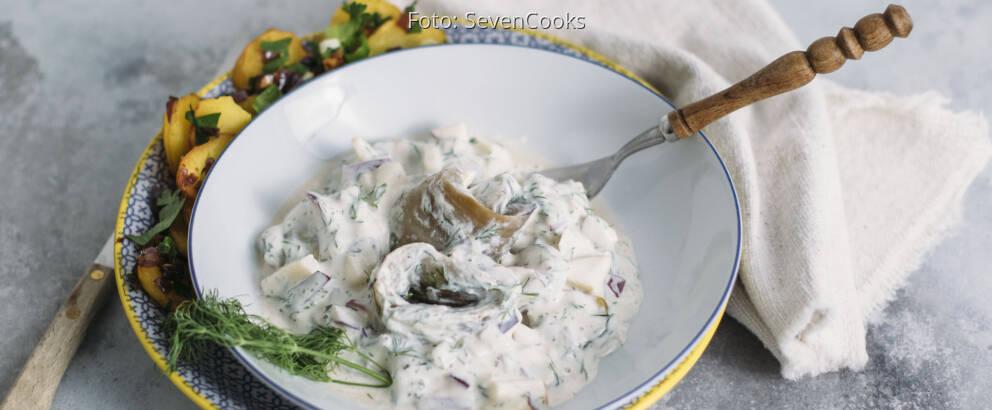 Veganes Rezept: Auberginen-Matjes 3