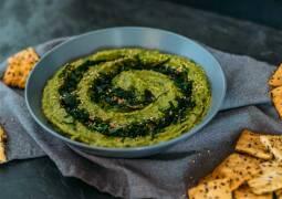 Veganes Rezept: Bärlauch-Hummus 1