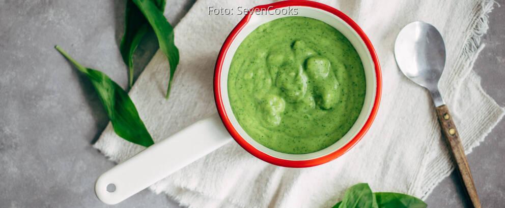 Veganes Rezept: Bärlauch-Kartoffelpüree