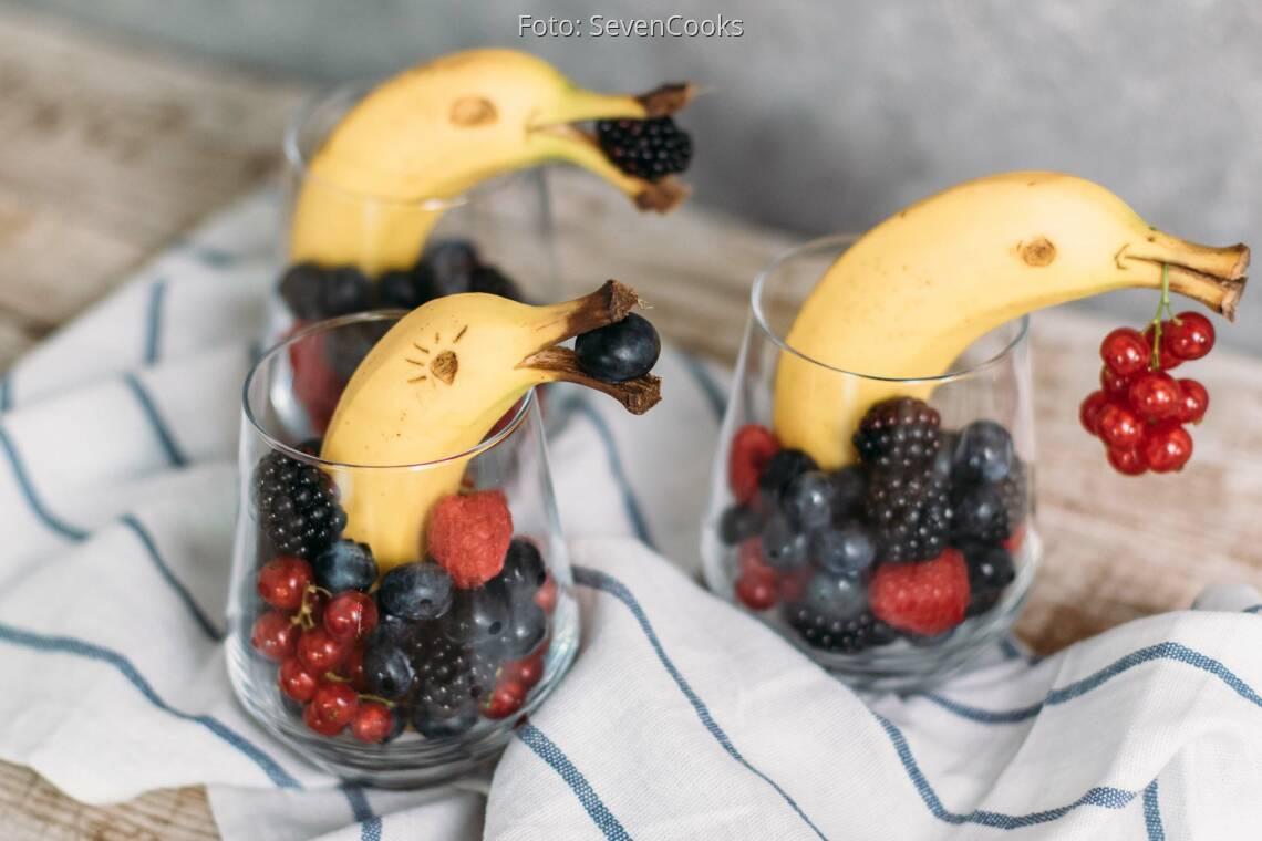 Veganes Rezept: Bananen Delfine_1