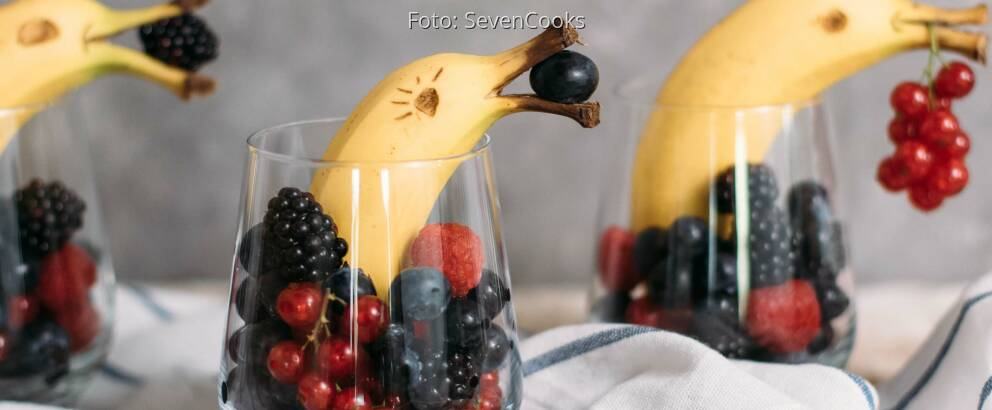Veganes Rezept: Bananen Delfine_2