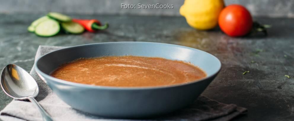 Veganes Rezept: Basische Gazpacho 1