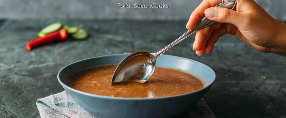 Veganes Rezept: Basische Gazpacho 3