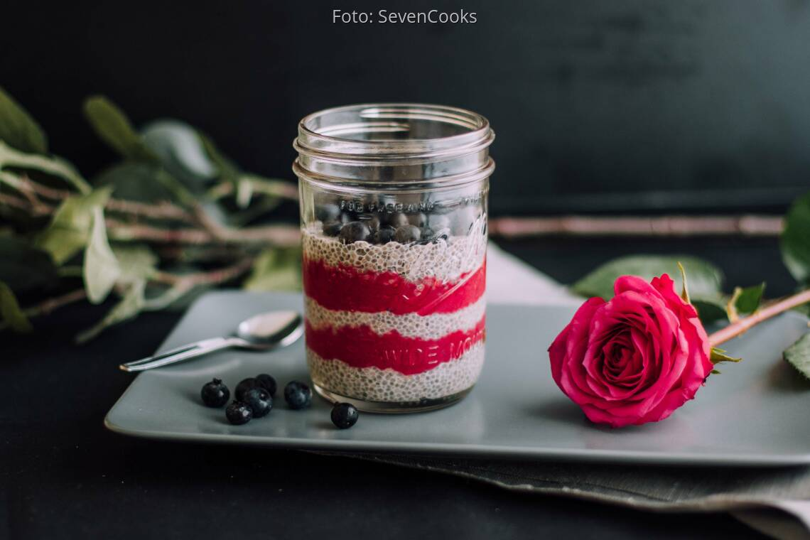 Veganes Rezept: Beeriger Chia-Pudding_1